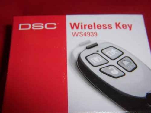 New Dsc Wireless Four Button Key Remote Ws4939 security fob