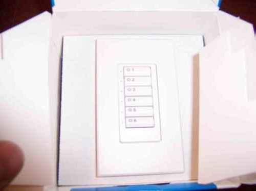 Lutron So-6Bi-Wh-Egn See Touch Dimmer
