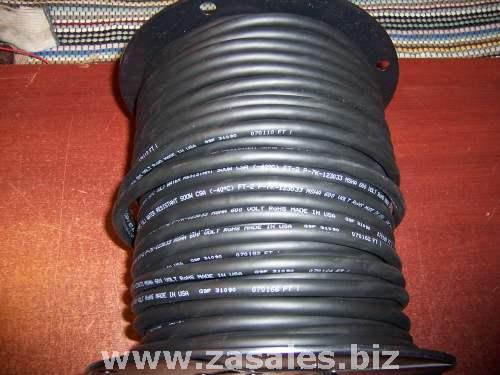 CAROL 02766.15.01 Cord,Portable,250ft, 16/4 SOOW, Black