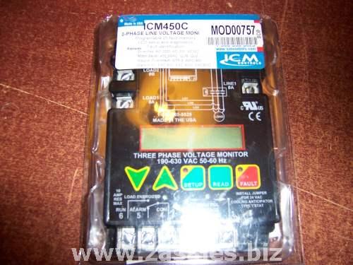 ICM ICM450 Monitor Line Voltage