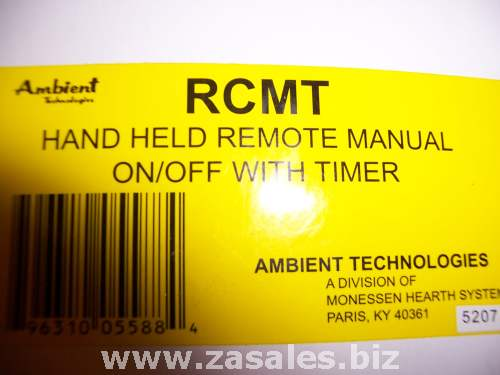 Ambient RCMT Soft Touch Hand Held On-Off Remote Control