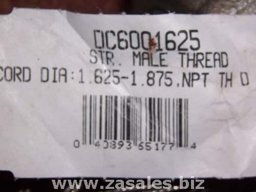 DC6001625 COOPER GRIP STRAIN REL DC 1.625-1.875 2.0 NPT