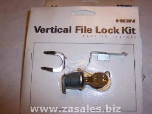 Hon one key core removable field installable lock kit for hon files