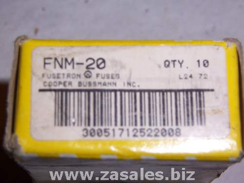 Bussmann  bp fnm-20 20A FNM Midget Fuse fusetron