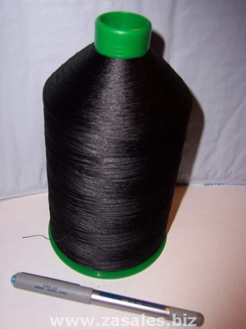 Bonded Nylon Thread 69 BLACK 16oz spool