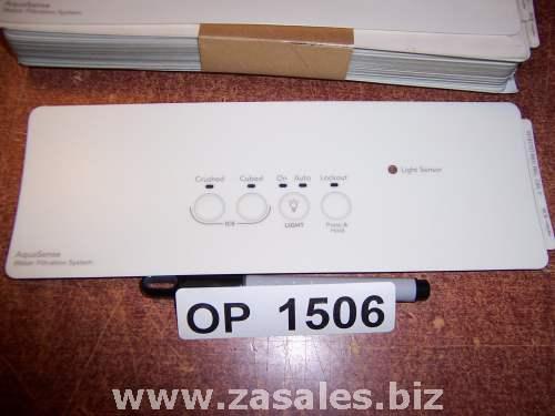 2318772T Refrigerator Door Push Button Panel Switch Overlay Whirlpool