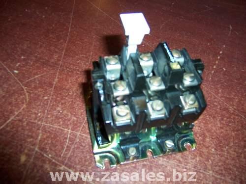 Allen bradley motor starter 3 pole overload relay 592 b0v16 for Allen bradley motor overload