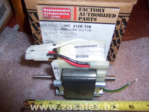 Carrier HC21ZE118 Combustion Inducer Motor