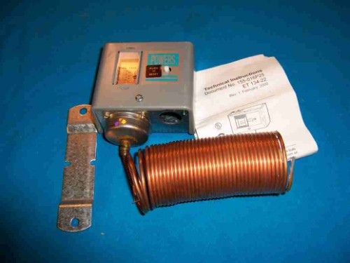 Siemens 134-1504 Electric Low Temp Detection Thermostat