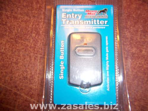 Mighty Mule FM135 One Button Gate Entry Transmitter