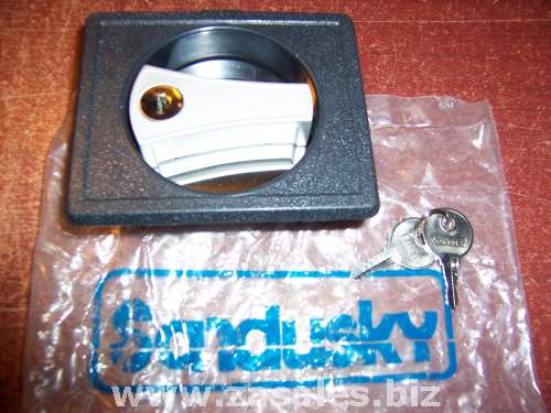 Sandusky SAN-RLHAB Replacement Recessed 3-Point Locking Handle