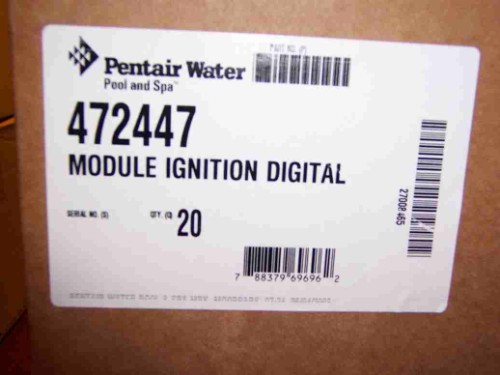 Pentair 472447 Minimax NT Std Ignition Control Module Digital Ddtc