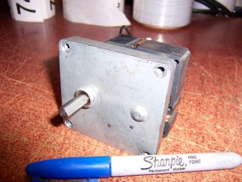 ECM 50 RPM  Gear Motor 744-2 #416 1.4A 117V ECM4846 30/00D