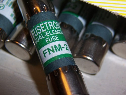 Buss FNM-2 2A 250V Time-Delay Fuse Cooper Bussman