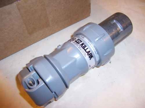 Killark VP6375 Pin & Slve plug,60a,3p,3w,600vac/250vdc