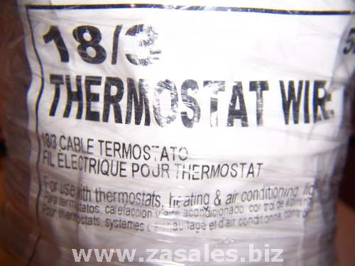 thermostat Wire 05583.R8.02 18/3 105C-WHT-2X500'/CT carol