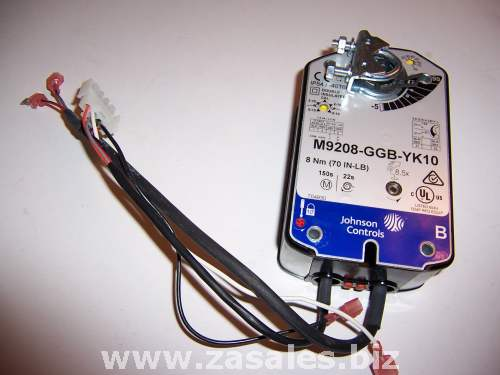 Johnson Controls | M9208-GGB-YK10 | 70 lbin ACT for York ECON; 24 VAC 70LB-IN (8 nm) Spring Return ACT Prop AC/DC/ 24C 1