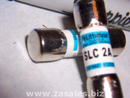 Littelfuse SLC 2A Slc002 300V Class G Fuse