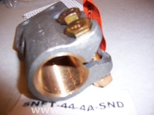 Sefcor SNFT-44-4A-SND Electrical Stud Connector Bronze 1 1/2 - 12