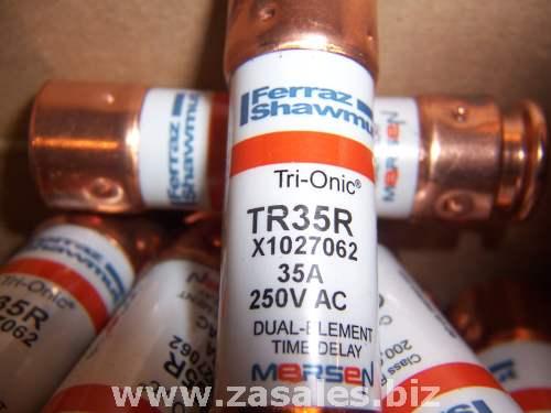mersen/ferraz shawmut tr35r fuse,rk5,ser tr-r,35 a,250vac/dc