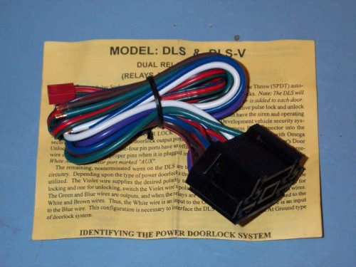 Omega DLS-V 10 Wire Relay 10