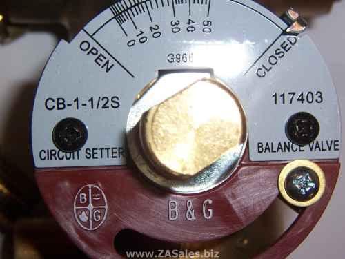 Bell & Gossett 117403LF CB-1 1/2S Lead Free Circuit Setter Balance Valve, 1-1/2-inch (Sweat)