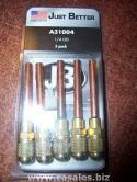 JB A31004 1/4 OD Copper Tube Ext. Access 5PK HVAC Valve Refrigerant