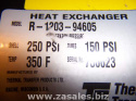 Shell And Tube Heat Exchanger R-1203-94605 Thermal Transfer Products 5