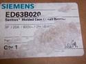 New Siemens ED63B020 Circuit Breaker Ed 3P 20A 600V 18ka LD Lug 2