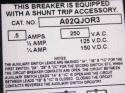 Siemens QJ23S225A - Breaker QJ 3P 225A 240V 10KA Switch 2