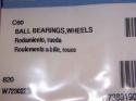 Polaris C60 Wheel Bearings for 180/280/380 c-60 1
