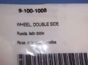 Polaris 9-100-1008 Double-Side Wheel for 360/380/360 BlackMax/380 BlackMax 1