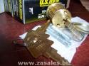 Pair Us Lock Rim Cylinder Kw1 Keyway Brass Ka2 Keyed Alike US1565KW13 1
