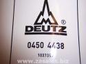 Deutz 04504438 Fuel Filter Cartridge 0450 4438 2