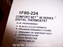 Emerson 1F80-0224 Single Stage 24 Hour Programmable Thermostat 2