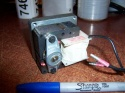 ECM 50 RPM  Gear Motor 744-2 #416 1.4A 117V ECM4846 30/00D 1