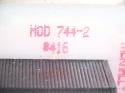 ECM 50 RPM  Gear Motor 744-2 #416 1.4A 117V ECM4846 30/00D 3
