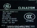 GE CL04A310M1 IEC contactor nonrev 24vac 32a 3p 1no 4