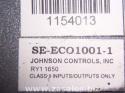 Johnsons Controls Se-eco1001 Economizer Controller Control 5