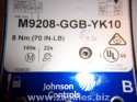 Johnson Controls | M9208-GGB-YK10 | 70 lbin ACT for York ECON; 24 VAC 70LB-IN (8 nm) Spring Return ACT Prop AC/DC/ 24C 1 2
