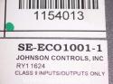 Johnson Controls SE-ECO1001-1 Economizer Control 2