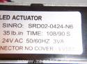 X13611086010 Trane Direct Coupled Actuator  SINRO: SRD02-0424-N6 6