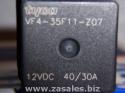 TYCO vf4-35f11-z07 12V Marine relay Trim Tab 40A VF4 2