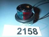 Perko Boat Bi-Color Bow Light 0227000CHR Chrome 12 Volt