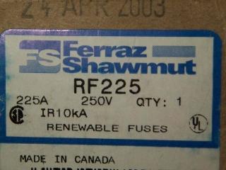 RF225: UL Class H Fuses from Mersen, formerly Ferraz Shawmut 1