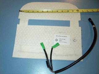 Gm 12V 14W seat heater gmx 270 SPO 543914 1